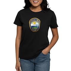 Signal Hill Police Women's Dark T-Shirt