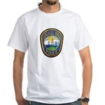 Signal Hill Police White T-Shirt
