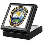 Signal Hill Police Keepsake Box