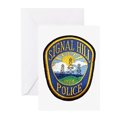 Signal Hill Police Greeting Cards (Pk of 10)