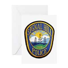 Signal Hill Police Greeting Card