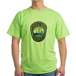 Signal Hill Police Green T-Shirt