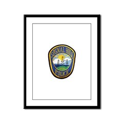 Signal Hill Police Framed Panel Print