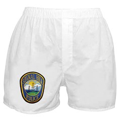 Signal Hill Police Boxer Shorts