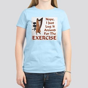 Harp for the Exercise Women's Light T-Shirt