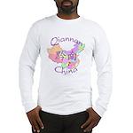 Qiannan China Map Long Sleeve T-Shirt