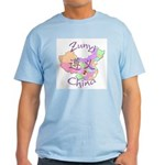 Zunyi China Map Light T-Shirt