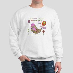 Langston Hughes Peacebird Sweatshirt