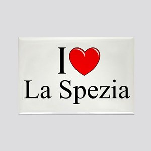"""I Love (Heart) La Spezia"" Rectangle Magnet"