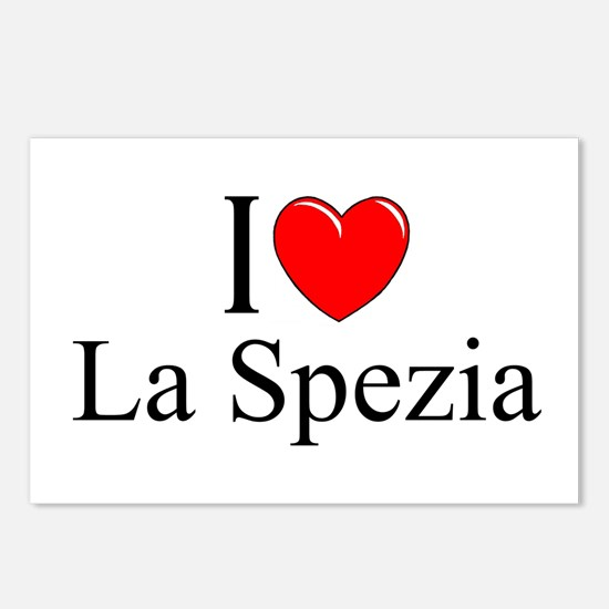 """I Love (Heart) La Spezia"" Postcards (Package of 8"