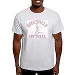 Dykesville Softball Ash Grey T-Shirt
