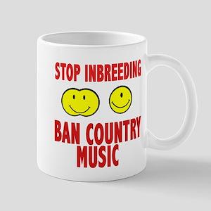 ban country music Mug