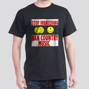 ban country music Dark T-Shirt