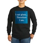 THEREFORE... Long Sleeve Dark T-Shirt