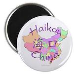 Haikou China Map Magnet