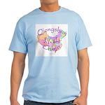 Qiongshan China Map Light T-Shirt