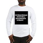 GLASS ETCHERS Long Sleeve T-Shirt