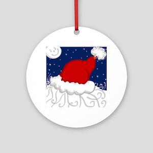 Santa's Back! Ornament (Round)