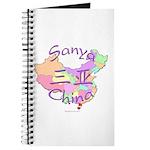 Sanya China Map Journal