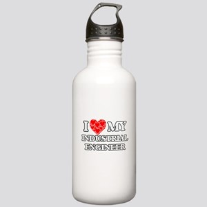 I Love my Industrial E Stainless Water Bottle 1.0L