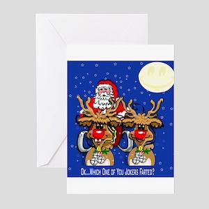 Reindeer Humor Greeting Cards (Pk of 10)