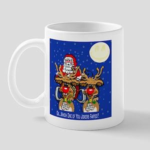 Reindeer Humor Mug