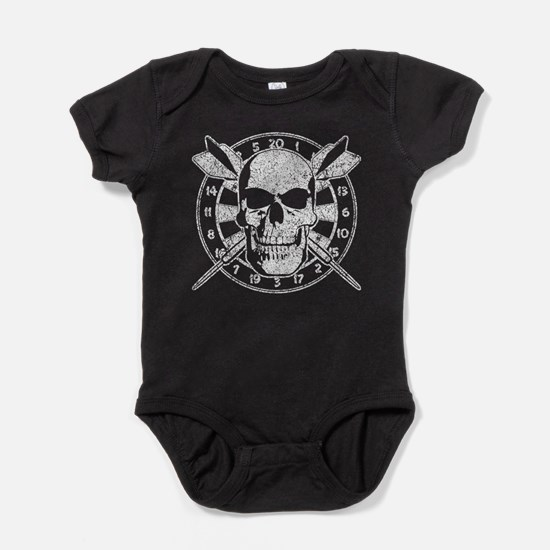 Skull and Darts Body Suit