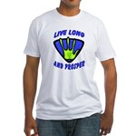 Live Long And Prosper Fitted T-Shirt