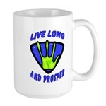 Live Long And Prosper Large Mug