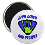 Live Long And Prosper Magnet