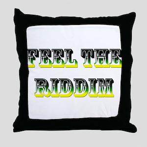 Jamaica Fag Throw Pillow