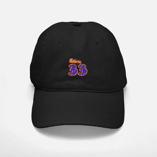 Made in 33 Baseball Hat