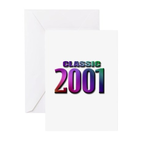 classic 2001 Greeting Cards (Pk of 10)