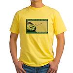 Hook Pain Yellow T-Shirt