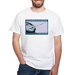 Hook Pain White T-Shirt