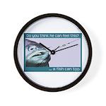 Hook Pain Wall Clock