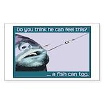 Hook Pain Sticker (Rectangle 10 pk)