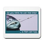 Hook Pain Mousepad