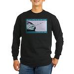 Hook Pain Long Sleeve Dark T-Shirt