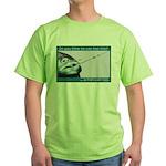 Hook Pain Green T-Shirt