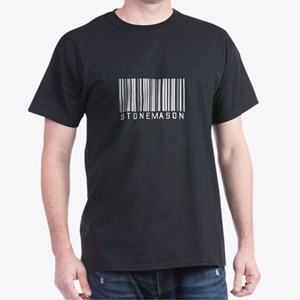 Stonemason Barcode Dark T-Shirt