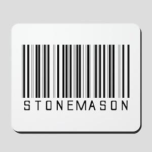 Stonemason Barcode Mousepad