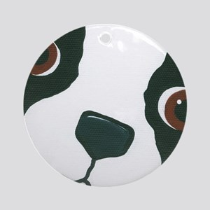 Boston Face Ornament (Round)