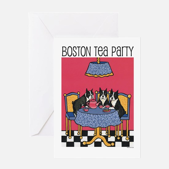 Boston Tea Party Greeting Card