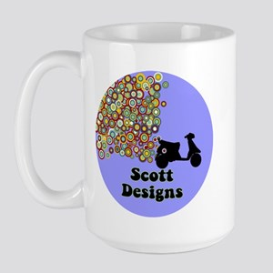 Scott Logo Wear Large Mug