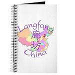 Langfang China Map Journal