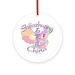 Shijiazhuang China Ornament (Round)