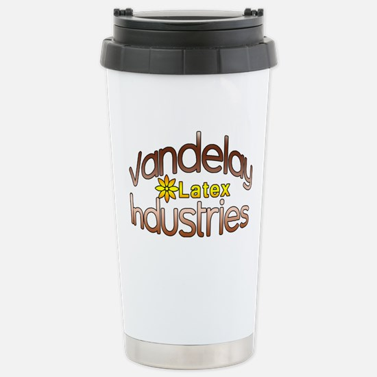 Funny Vandelay Industries Stainless Steel Travel M