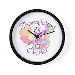 Zhangjiakou China Wall Clock