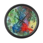 Breach of Containment Art Large Wall Clock